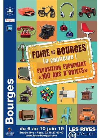 """Exposition """"100 ans d'objets"""" à Bourges"""