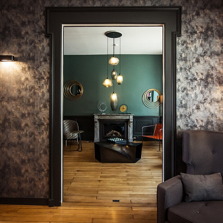 Lounge hôtel 4* décoration