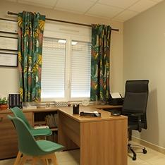 Décoration d'un cabinet de psychologue à St Doulchard proche de Bourges
