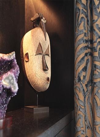 Détail décoration salon